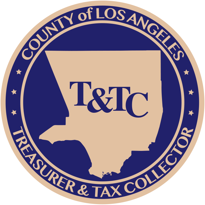 County of Los Angeles Treasurer & Tax Collector (seal).
