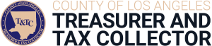 County of Los Angeles Treasurer and Tax Collector logo.